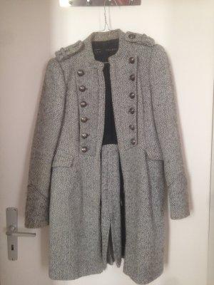 Zara Basic Cappotto in lana multicolore