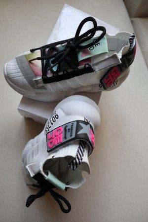 GEJD Sneaker slip-on multicolore Tessuto misto