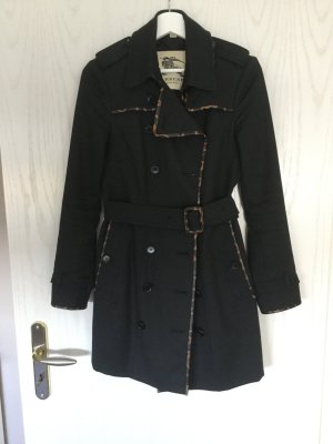 Burberry London Trench Coat black-brown cotton