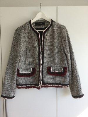 Ausgefallener Tweed Blazer von Zara