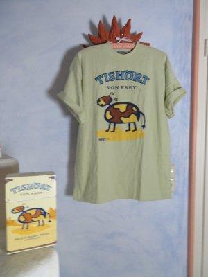 ausgefallenes FREY Vintage Shirt von 1999 - CAMEL TISHÖRT VON FREY - Gr. L - 100% Baumwolle -
