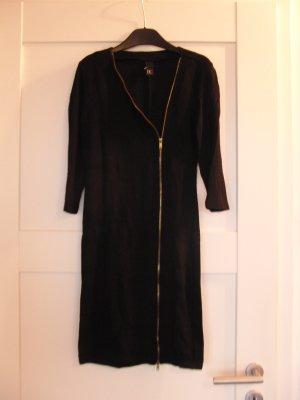 Ausgefallenes Jersey-Kleid / Bodycon-Kleid von Best Connections (Heine), schwarz, Gr. 34 (36)