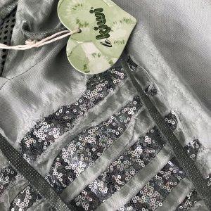 kiwi Blusa con capucha verde grisáceo