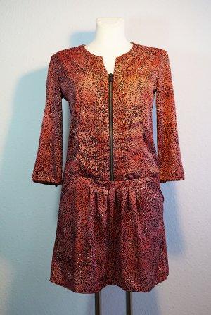 Ausgefallenes Kleid im Animalprint von Maison Scotch