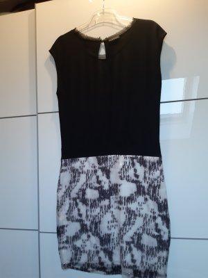 Taifun Evening Dress black mixture fibre