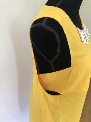 Ausgefallenes Liu Jo Designer Sommerkleid Sonne Urlaub gelb 36 38