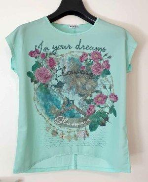 Tamaris Print Shirt turquoise