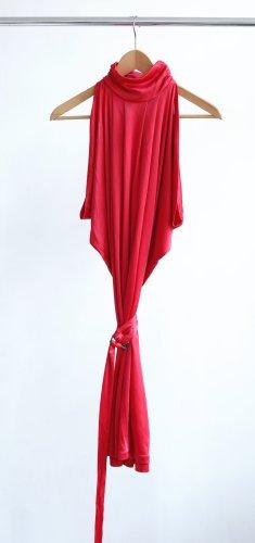 Mango Dress red acetate