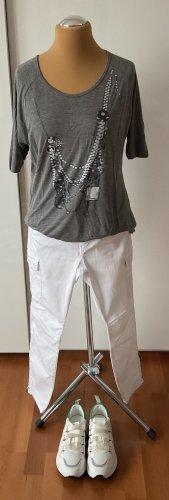 ausgefallenes Project No. 5 Shirt mit Ketten Druck vorn Gr. L 40/42 neuwertig