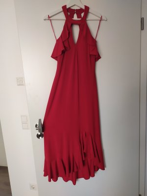 Ausgefallenes rotes Kleid