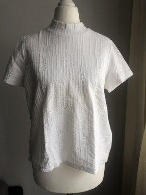Ausgefallenes Shirt | Rückenfrei | Weiß