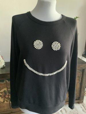 Lauren Moshi Sweat Shirt black-natural white