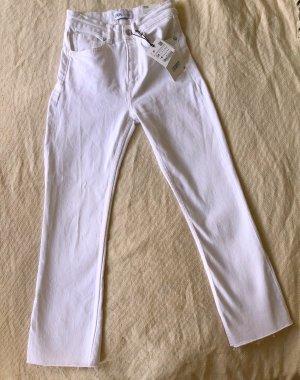 Ausgestellte 7/8 Jeans im Cropped Schnitt