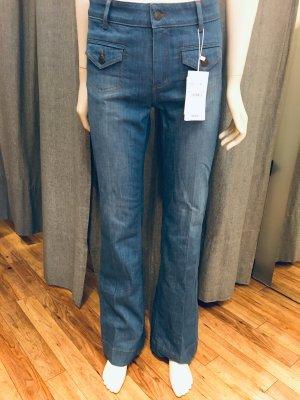 Comptoir des Cotonniers Jeans flare bleuet