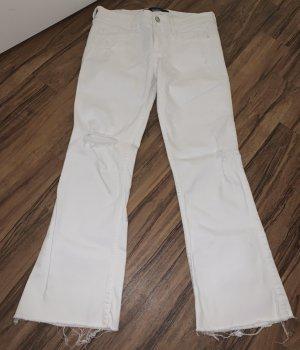 Hollister Vaquero de corte bota blanco