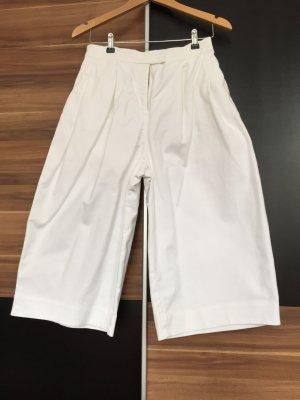 Ausgestellte Weiße Culottes