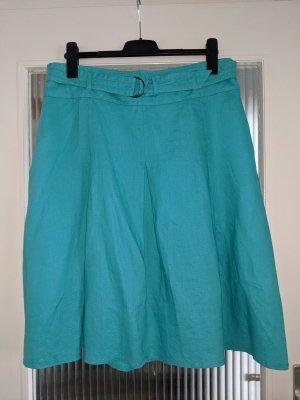 Betty Barclay Lniana spódnica jasnoniebieski-turkusowy Len