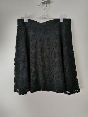 FB Sister Lace Skirt black
