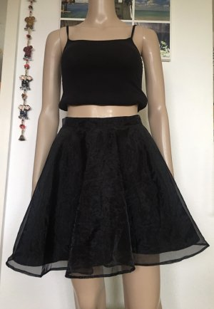 H&M Divided Circle Skirt black