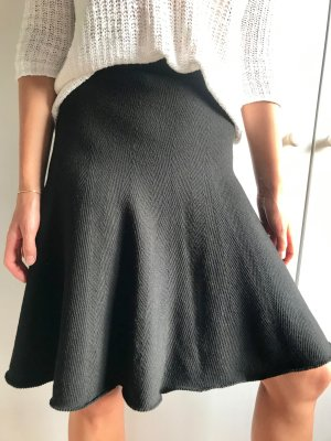 Lawrence Grey Knitted Skirt black
