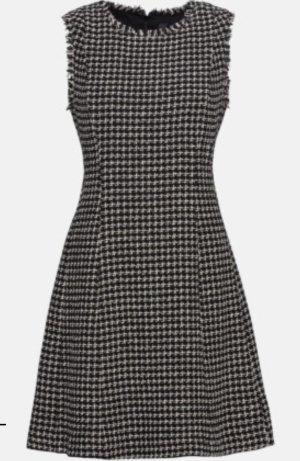 Hallhuber Fringed Dress white-black