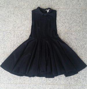 Ausgestelltes Kleid Babydoll Peter-Pan-Collar Gothic Lolita
