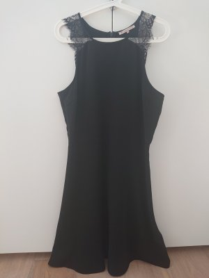 Anna Field Koronkowa sukienka czarny