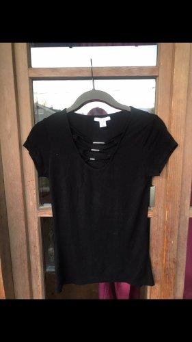 Ausschnitt T-Shirt