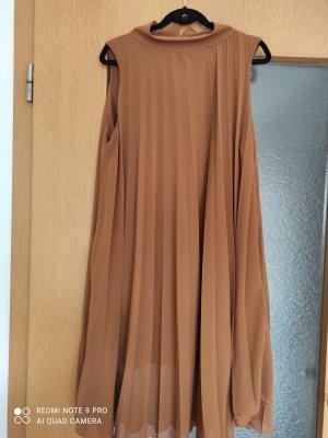 100% Fashion Vestido de Verano marrón