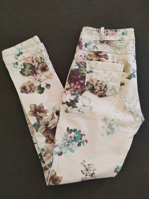 Pantalon cinq poches multicolore