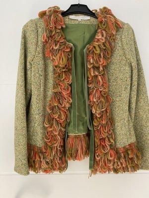 no name Veste mi-saison multicolore laine