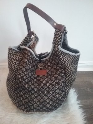 Anokhi Burlap Bag multicolored