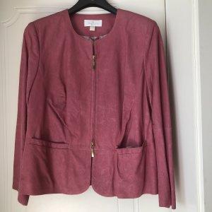 ae elegance Leather Jacket pink leather