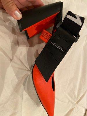 MOVIE'S Slingback Pumps neon orange