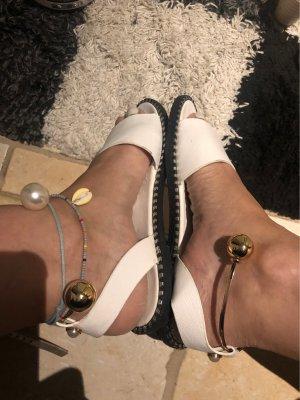 Sandały outdoor biały