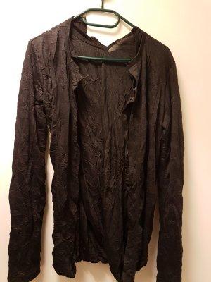 Shirt Jacket black-gold-colored