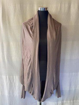 Sisley Smanicato lavorato a maglia marrone-grigio