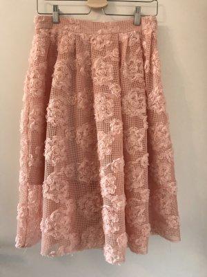 H&M Rozkloszowana spódnica Wielokolorowy