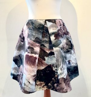 Carven Flared Skirt multicolored polyester
