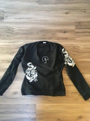 Außergewöhnlicher Sweater mit Stickerei
