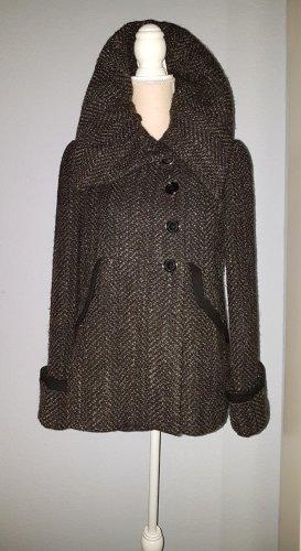 Aussergewöhnlicher TIFANNY ZARA MANTEL Peacoat Coat WOLLE leicht - ELEGANT!