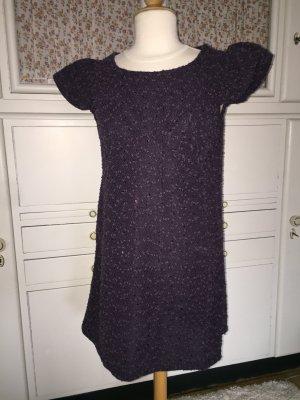 Außergewöhnliches Yumi-Kleid mit Flügelärmelchen und Pailetten M/L