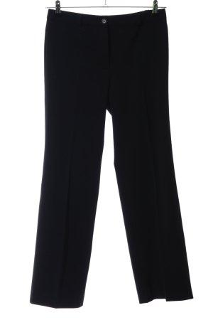 Aust Pantalone da abito nero stile professionale