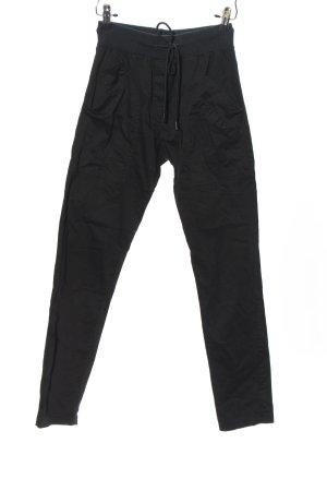 Aust Pantalon «Baggy» noir style décontracté