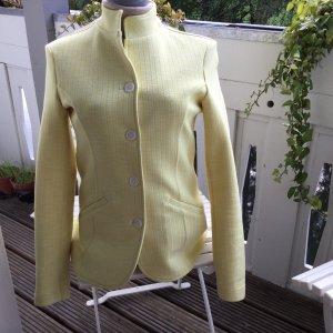 Aust Blazer corto giallo pallido Viscosa