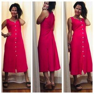 Aust A-lijn jurk roze