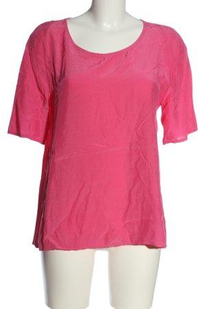 Aust Bluzka z krótkim rękawem różowy W stylu casual