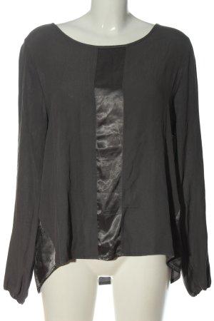 Aust Bluzka z długim rękawem jasnoszary W stylu casual