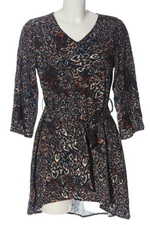 Aust Sukienka z długim rękawem Na całej powierzchni W stylu casual