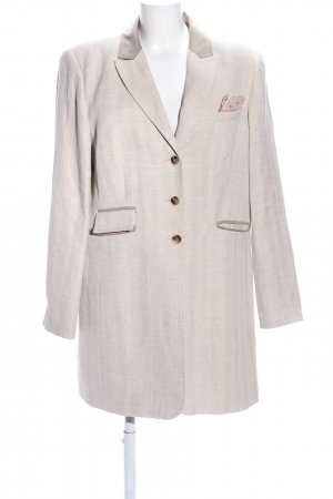 Aust Long-Blazer wollweiß Casual-Look